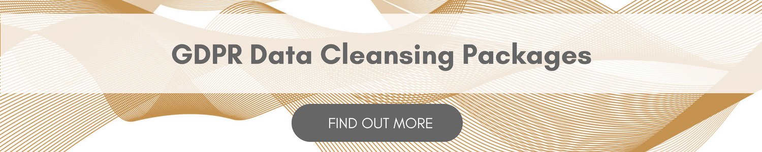Discover our GDPR Data Cleansing Packages