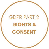 GDPR Part 2 - Rights and Consent