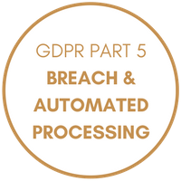 GDPR Part 5 - Breach and Automated Processing